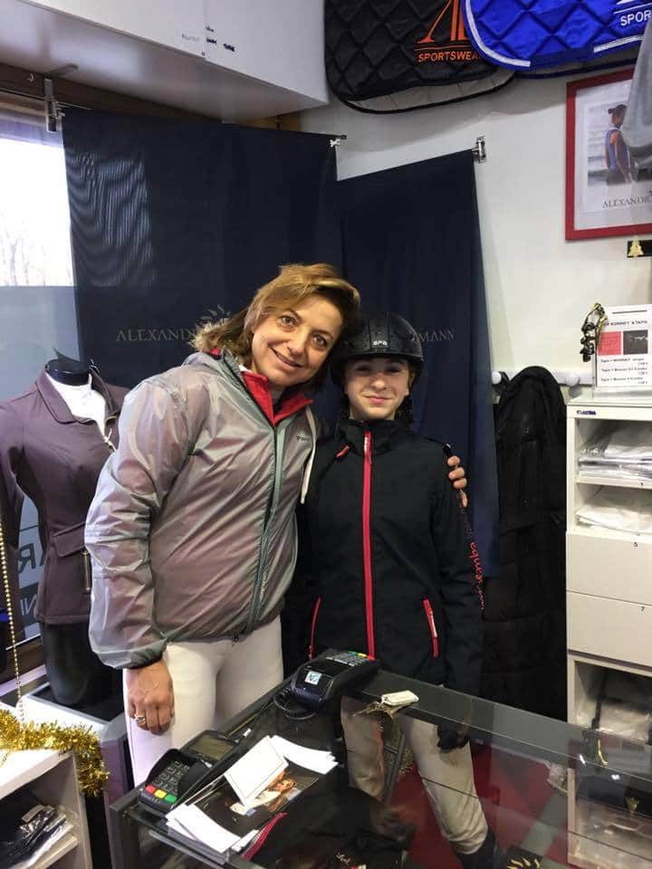 Team Ravene Alexandra Ledermann et Audrey Georget