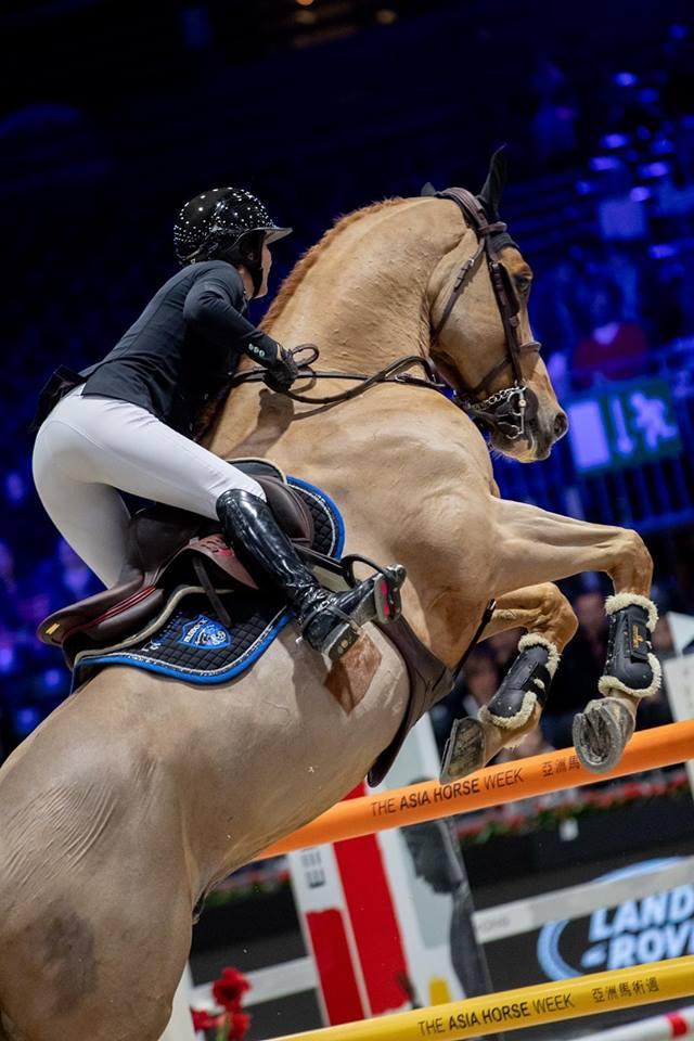 Camille Condé Ferreira salon du cheval