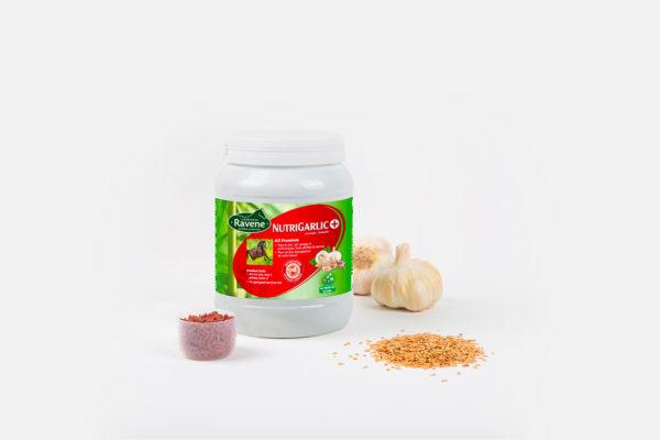 Nutrigarilic, le meilleur de l'ail et de l'huile de foie de morue, pour améliorer l'état général de votre cheval