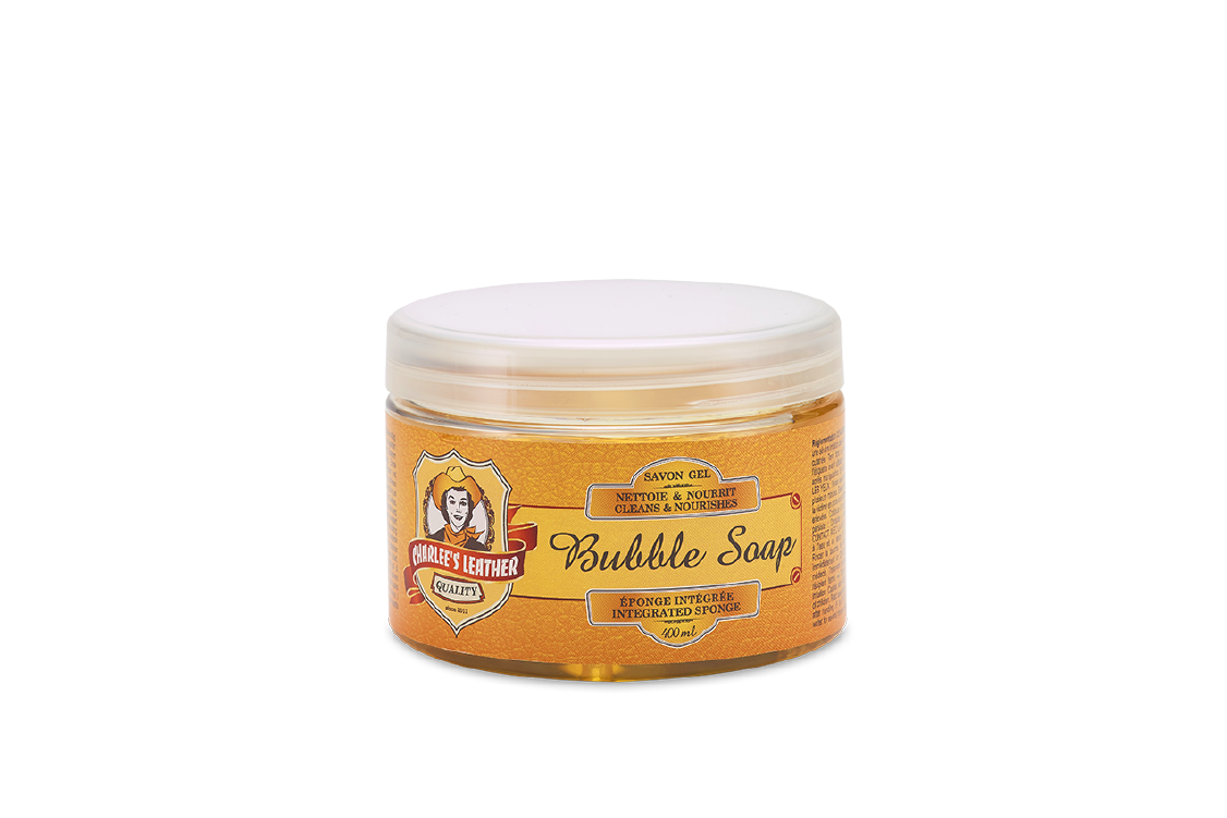 Produit BUBBLE SOAP gamme Charlee's Leather