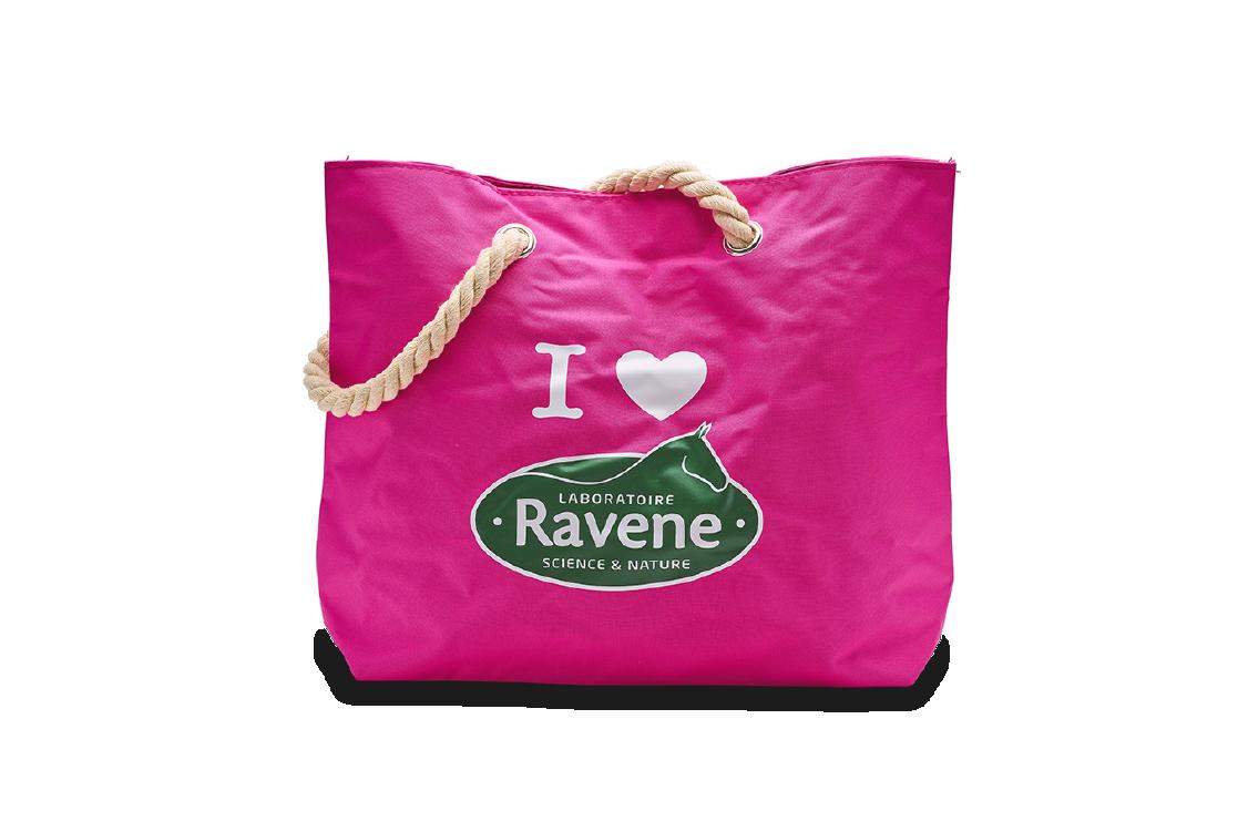 Produit SAC DE PANSAGE I LOVE RAVENE gamme My Ravene