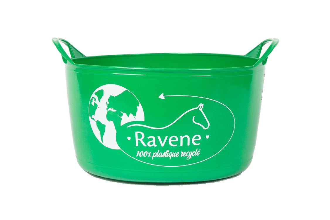 Produit SEAU RAVENE PLASTIQUE RECYCLE SOUPLE gamme Matériel